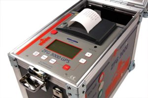 Light Weight Deflectometer LWD zfg3000 GPS Control Box Zorn