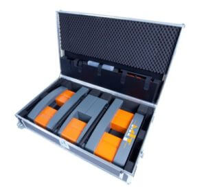 MIT-DOWEL-SCAN Tie Bar Alignment & Positioning Test Entire System fits in Transport Case
