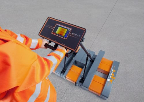 MIT-DOWEL-SCAN Tie Bar Alignment & Positioning Test real time mapping with immediate results after test