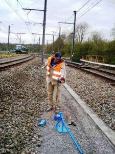 PANDA Dynamic Cone Penetrometer (DCP) on Railway ballast subgrade
