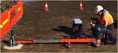 Plate Load Test AX01 Wind Farm Ev2 Strain Modulus Modulus of Subgrade reaction K Mt Gelliband